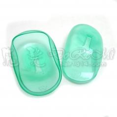 透明耳罩-透明綠