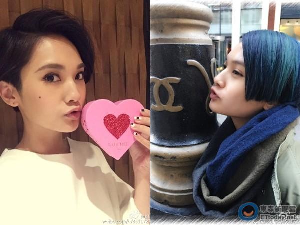 [新聞] 楊丞琳新髮型曝光!網友爭論「到底白金或藍黑?」