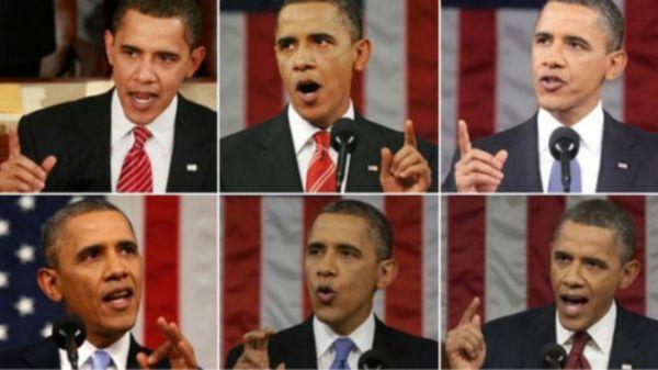 [新聞] 外媒:54歲奧巴馬頭髮變白稱不學其他領導人染黑