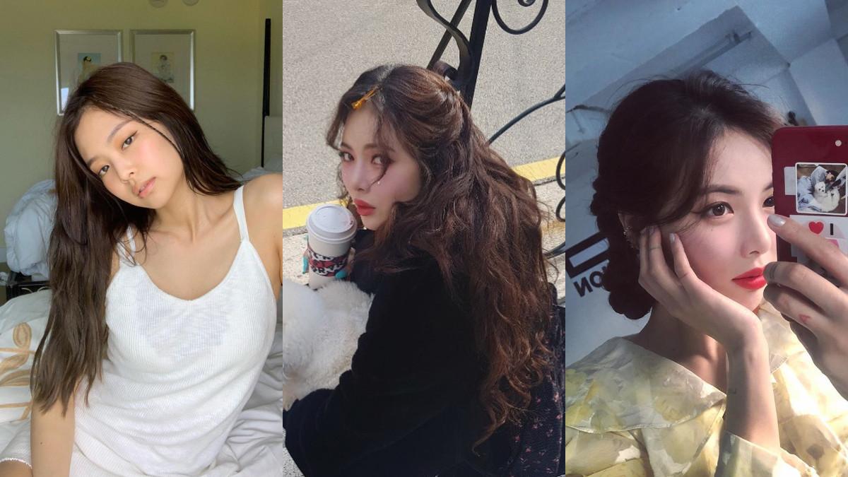 2019秋冬必染霧感髮色,泫雅、Jennie示範溫柔「蜂蜜茶灰」,染上更顯白還自帶混血味