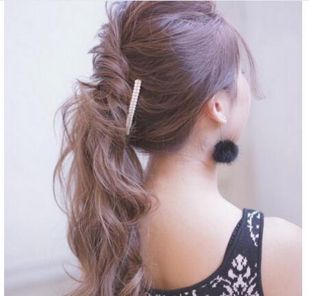 韓國妹子洋氣髮型這麼扎更顯青春魅力