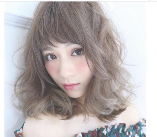 女生漂亮又清純的中長髮,頭髮不用留很長也很美