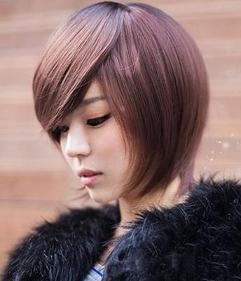 讓圓臉女生漂亮的髮型~